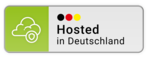 Logo - Hosted in Deutschland